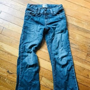 Boys 1989 bootcut jeans size 6